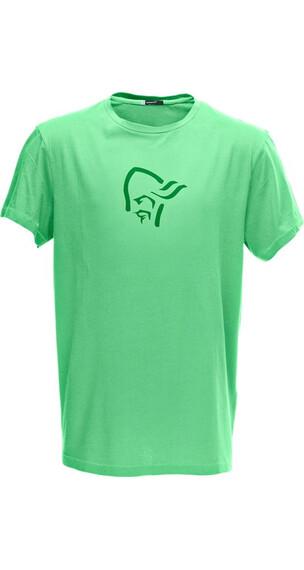 Norrøna M's /29 cotton logo T-Shirt Fresh Mint
